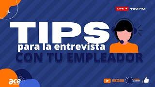 Tips para la entrevista con tu empleador – Summer Work & Travel