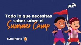 ¡Todo lo que necesitas saber sobre el Summer Camp! 📚